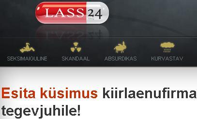 Lass24 - esita küsimus kiirlaenufirmale