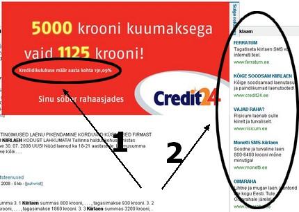 Reklaamiseadus ja Neti.ee